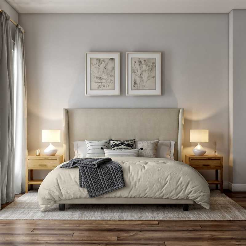 Scandinavian Bedroom Design by Havenly Interior Designer Ellis