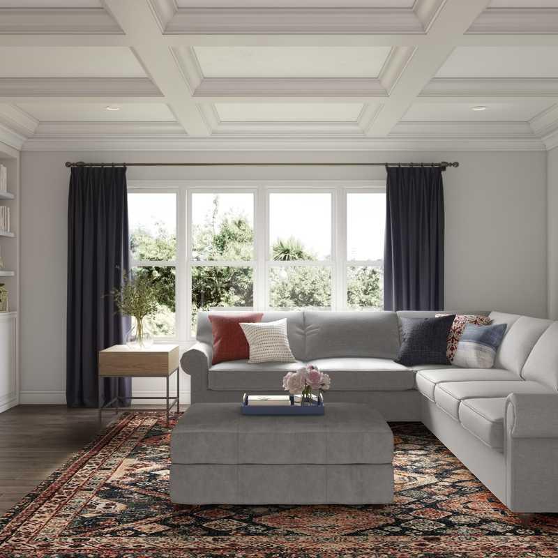 Living Room Design by Havenly Interior Designer Barbara