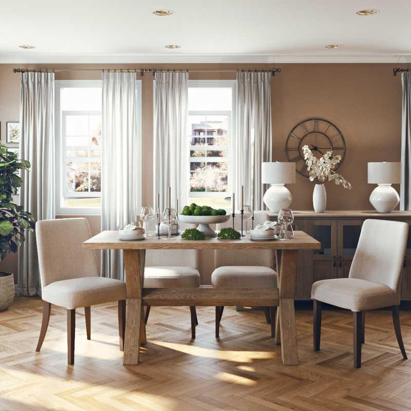Scandinavian Dining Room Design by Havenly Interior Designer Shirley