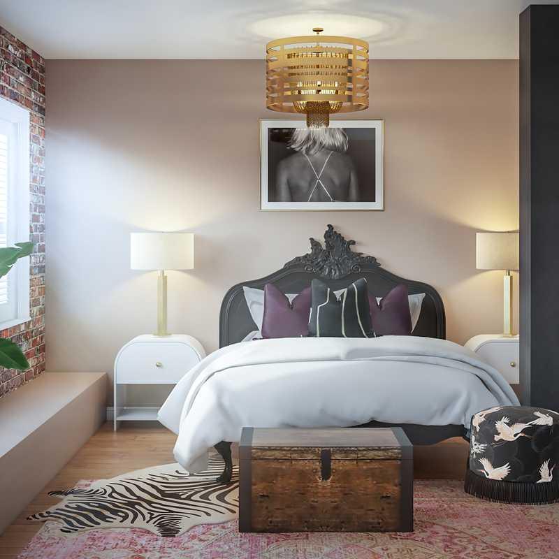 Modern, Glam Living Room Design by Havenly Interior Designer Paige