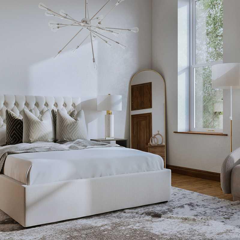 Glam Bedroom Design by Havenly Interior Designer Anna