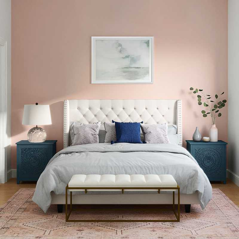 Classic, Glam, Traditional, Transitional Bedroom Design by Havenly Interior Designer Ana