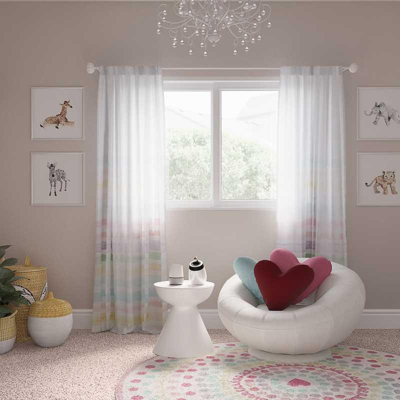 Midcentury Modern Nursery Design by Havenly Interior Designer Denise