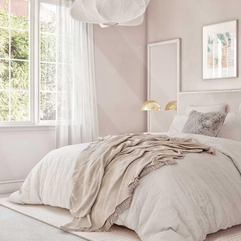 Modern, Glam Bedroom Design by Havenly Interior Designer Denise