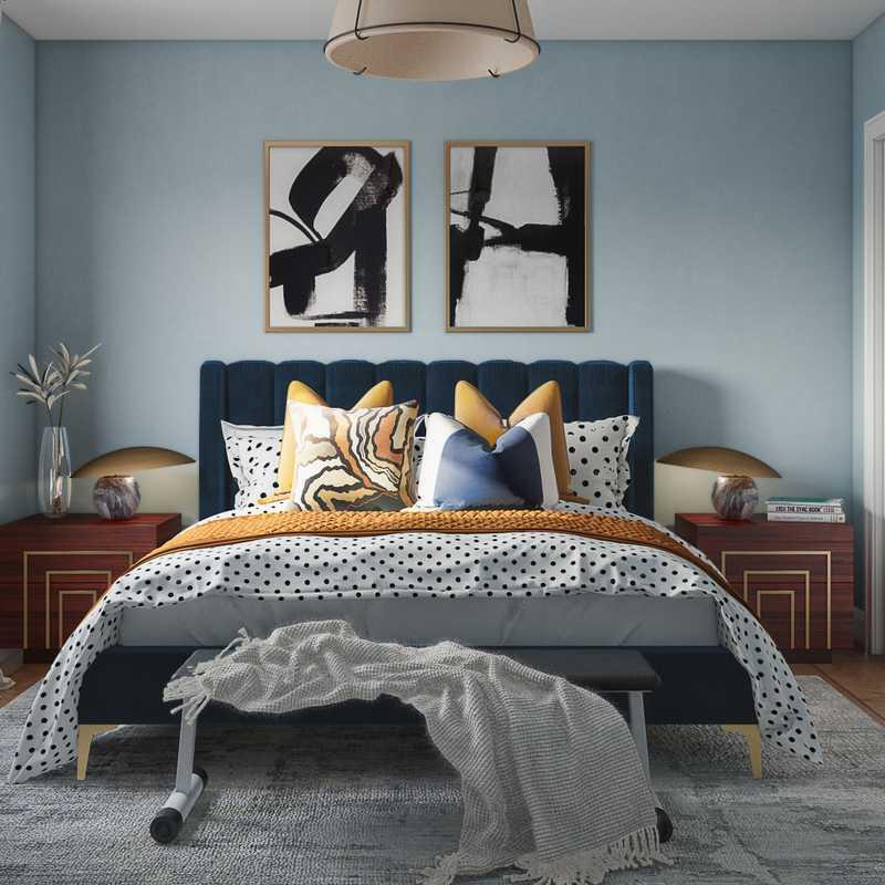 Contemporary, Modern Bedroom Design by Havenly Interior Designer Dani