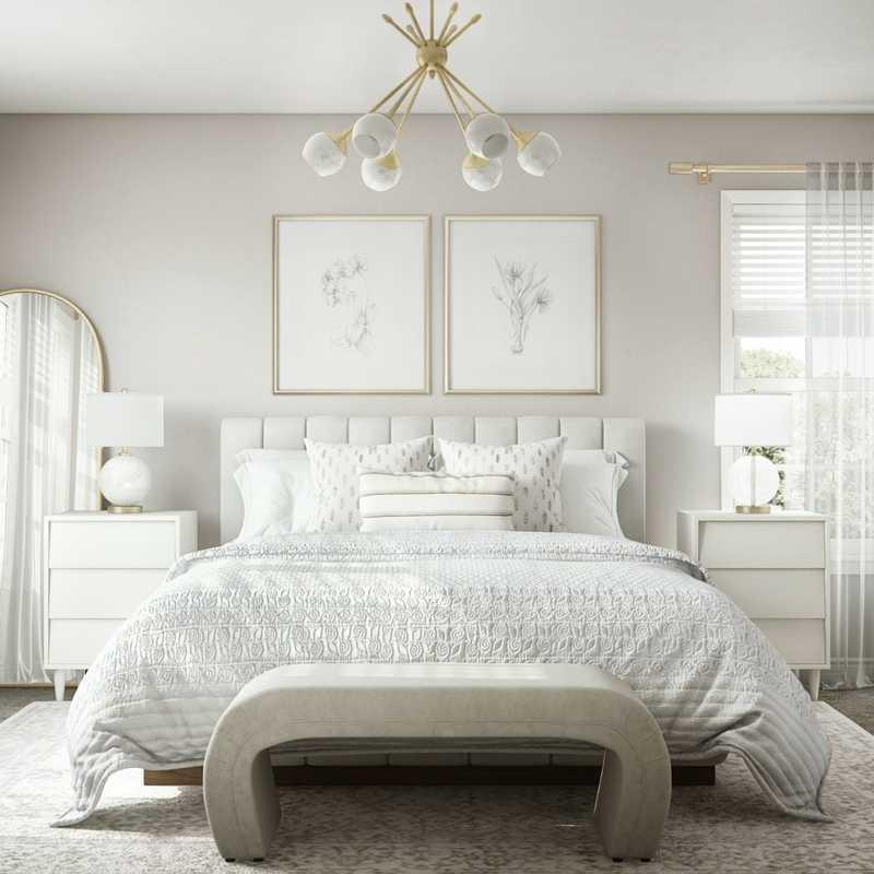 Bohemian Bedroom Design by Havenly Interior Designer Denise