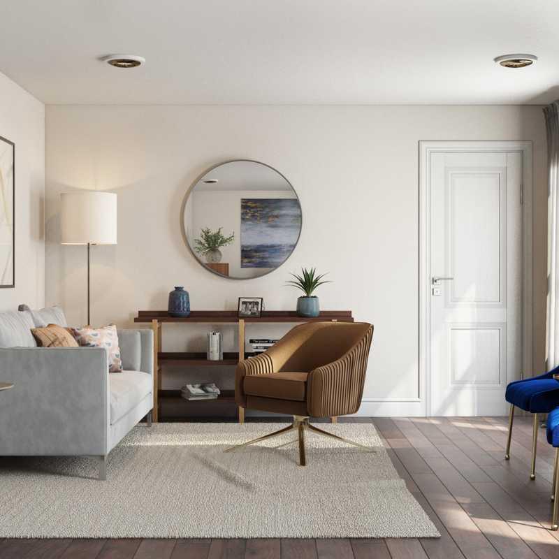 Modern Office Design by Havenly Interior Designer Abi
