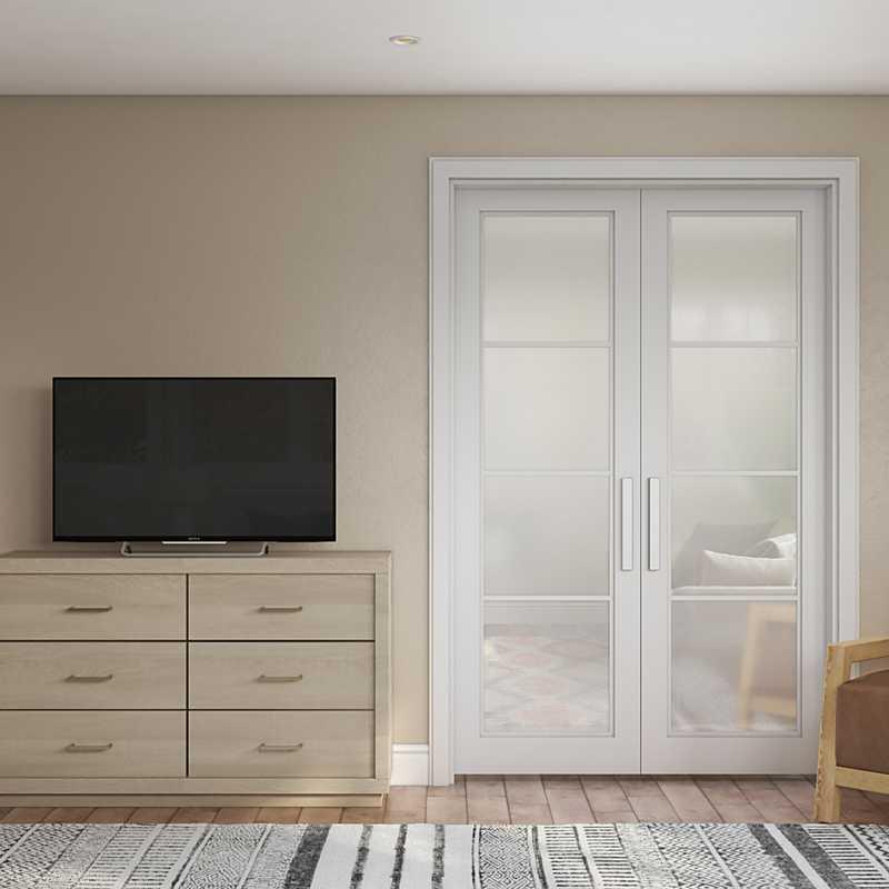 Bohemian, Scandinavian Bedroom Design by Havenly Interior Designer Haley