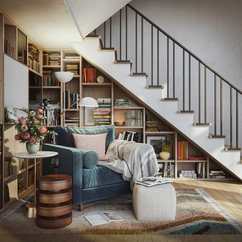 Eclectic, Midcentury Modern Design by Havenly Interior Designer Brady