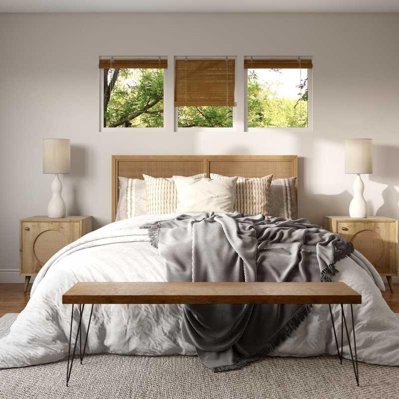 Modern, Scandinavian Bedroom Design by Havenly Interior Designer Senna