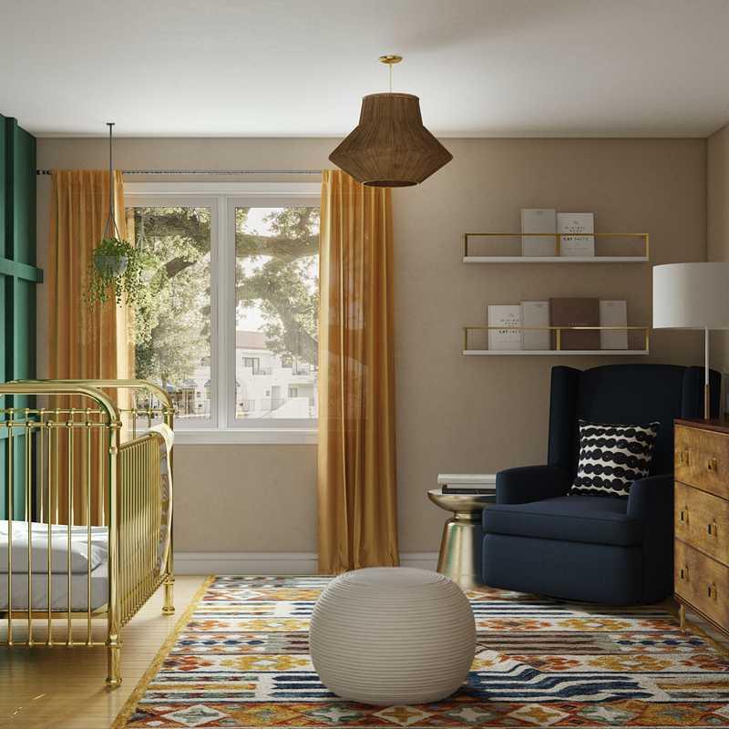 Bohemian, Global Nursery Design by Havenly Interior Designer Hayley