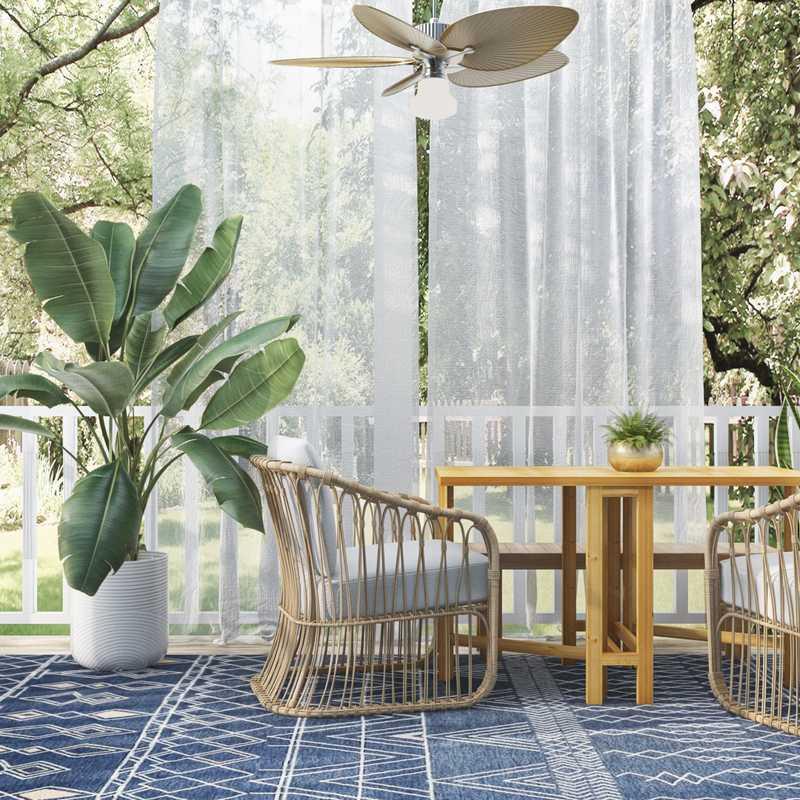 Bohemian, Coastal Other Design by Havenly Interior Designer Catrina