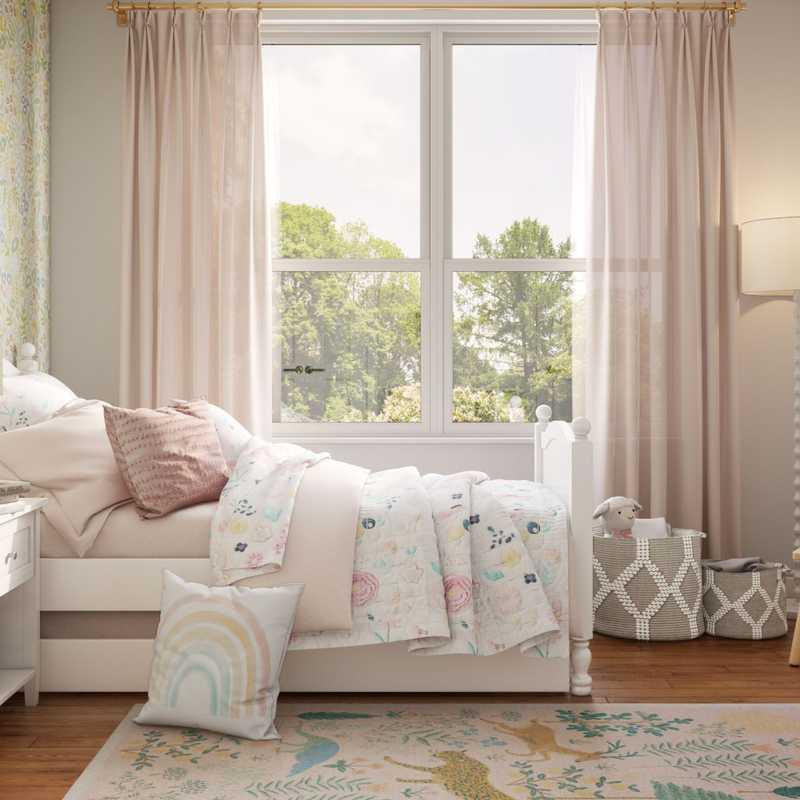 Modern, Eclectic, Midcentury Modern Nursery Design by Havenly Interior Designer Abril