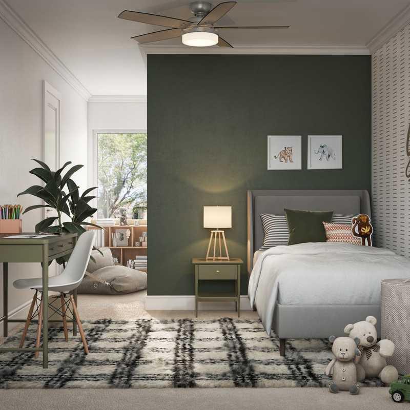 Modern, Transitional Bedroom Design by Havenly Interior Designer Astrid