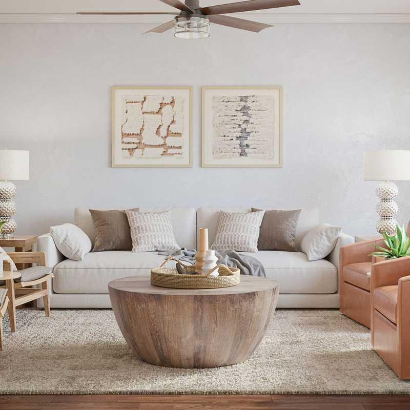 Modern, Classic Living Room Design by Havenly Interior Designer Shauna