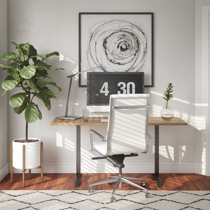 Office Design by Havenly Interior Designer Isaac
