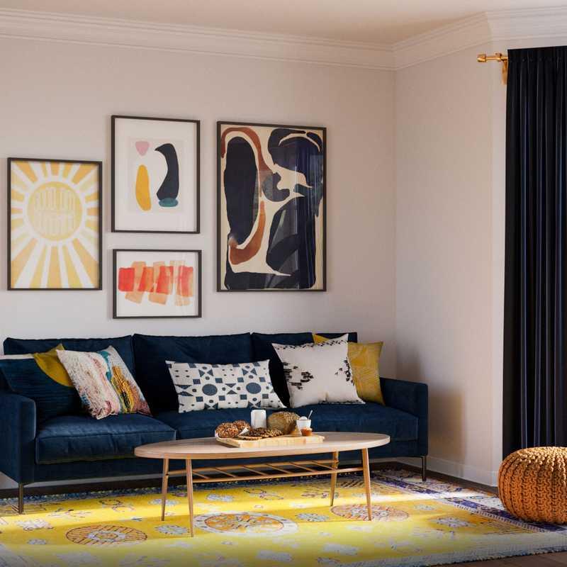 Office Design by Havenly Interior Designer Senna