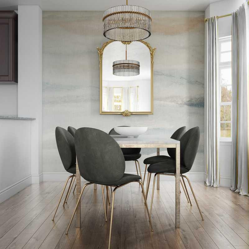 Eclectic, Global Living Room Design by Havenly Interior Designer Daniela
