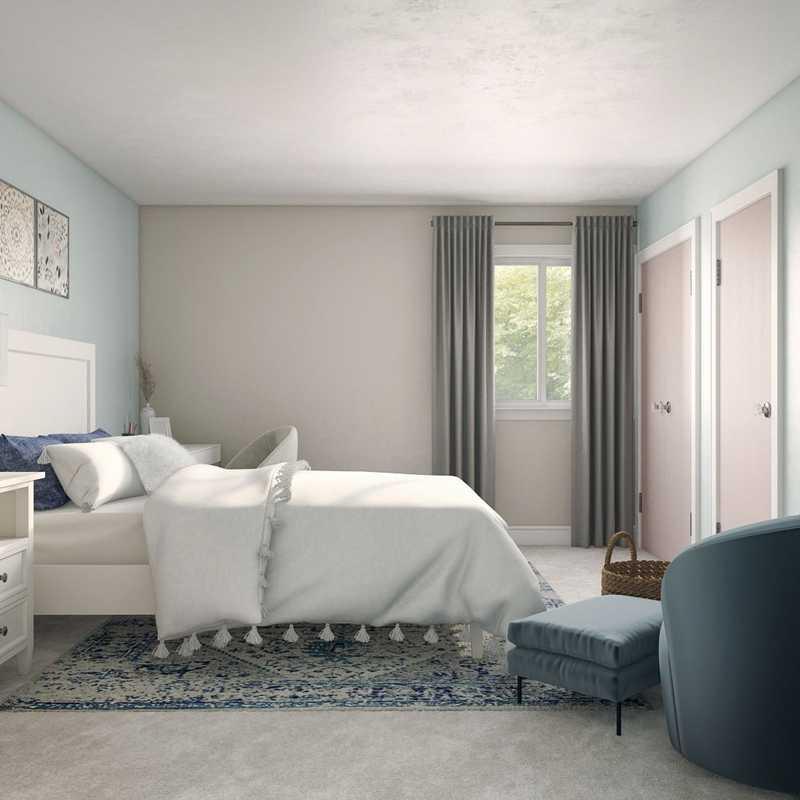 Modern, Eclectic, Bohemian Bedroom Design by Havenly Interior Designer Mariela