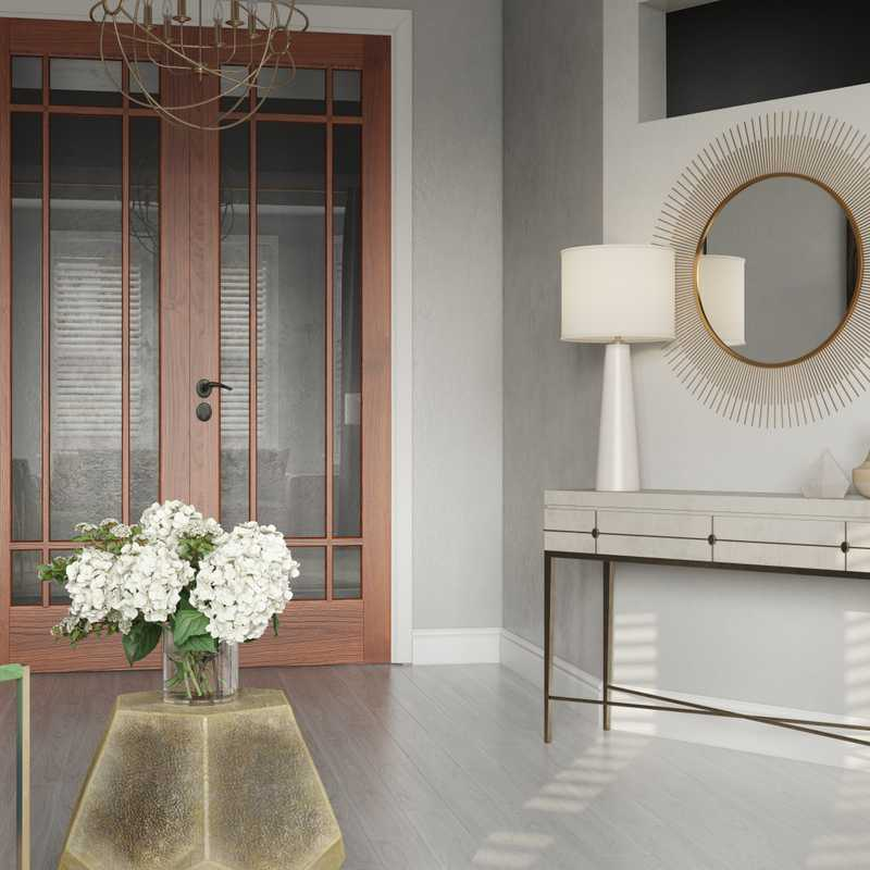 Modern, Eclectic, Glam, Traditional Living Room Design by Havenly Interior Designer Stacy