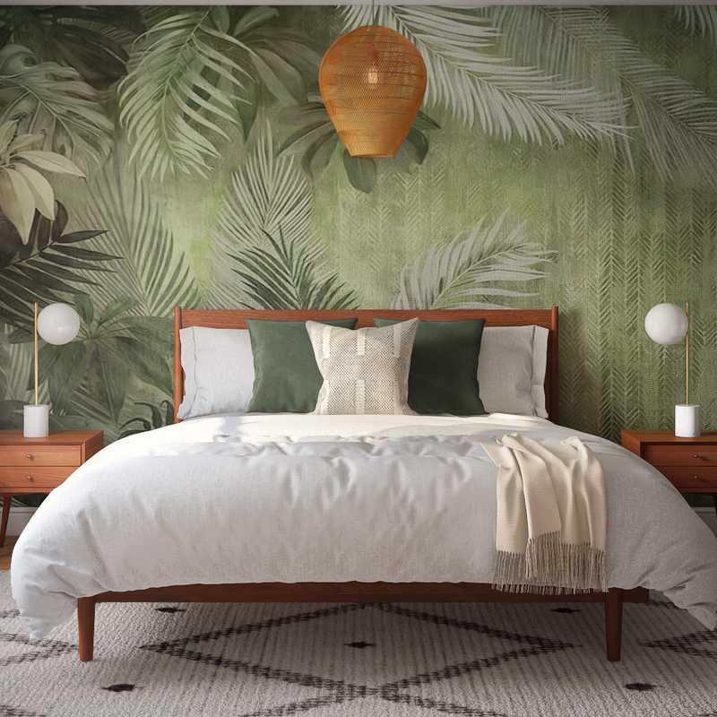 Contemporary, Midcentury Modern, Scandinavian Bedroom Design by Havenly Interior Designer Katie