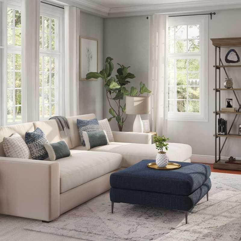 Living Room Design by Havenly Interior Designer Laura