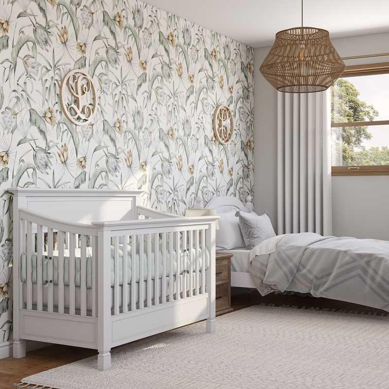 Coastal Nursery Design by Havenly Interior Designer Carla