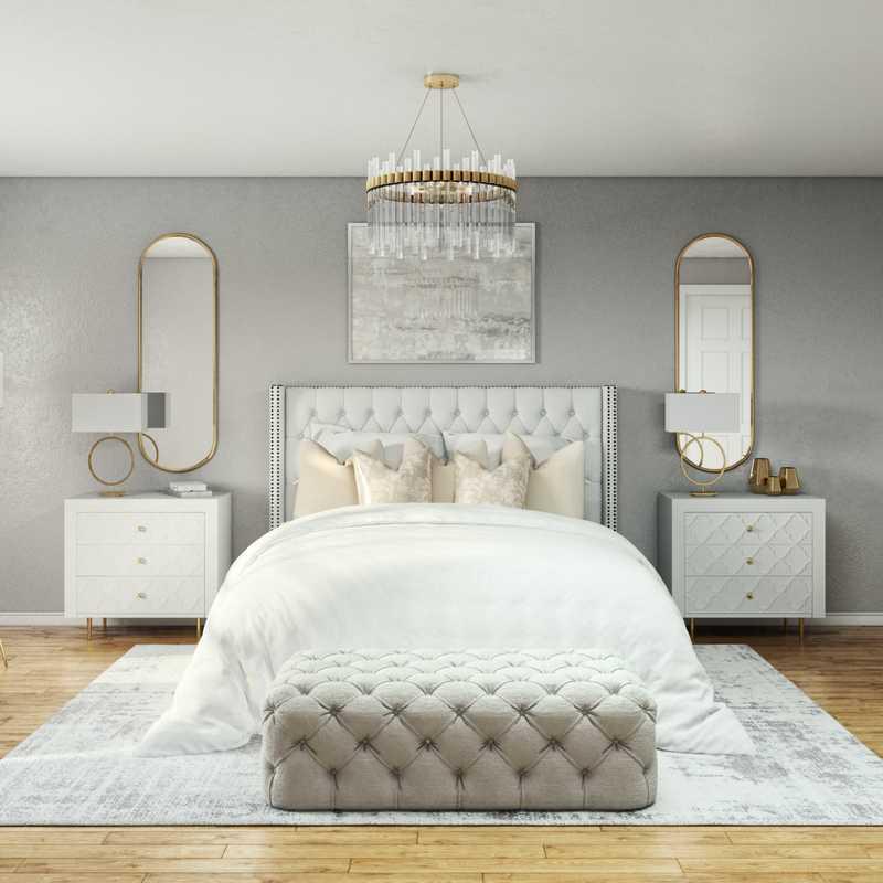 Modern, Glam Bedroom Design by Havenly Interior Designer Namita