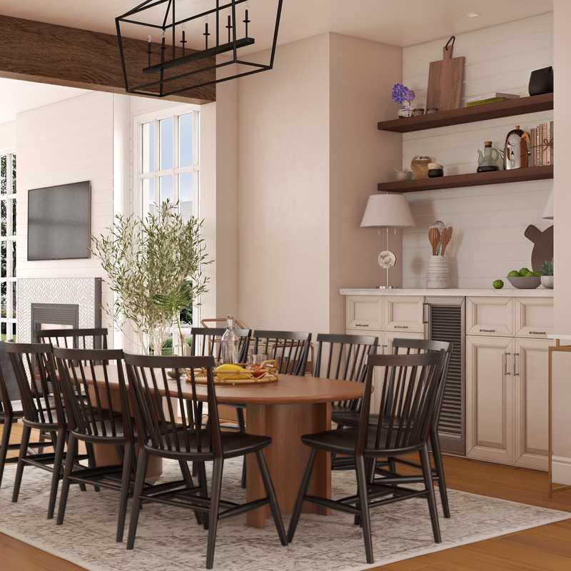 Modern Dining Room Design by Havenly Interior Designer Veema