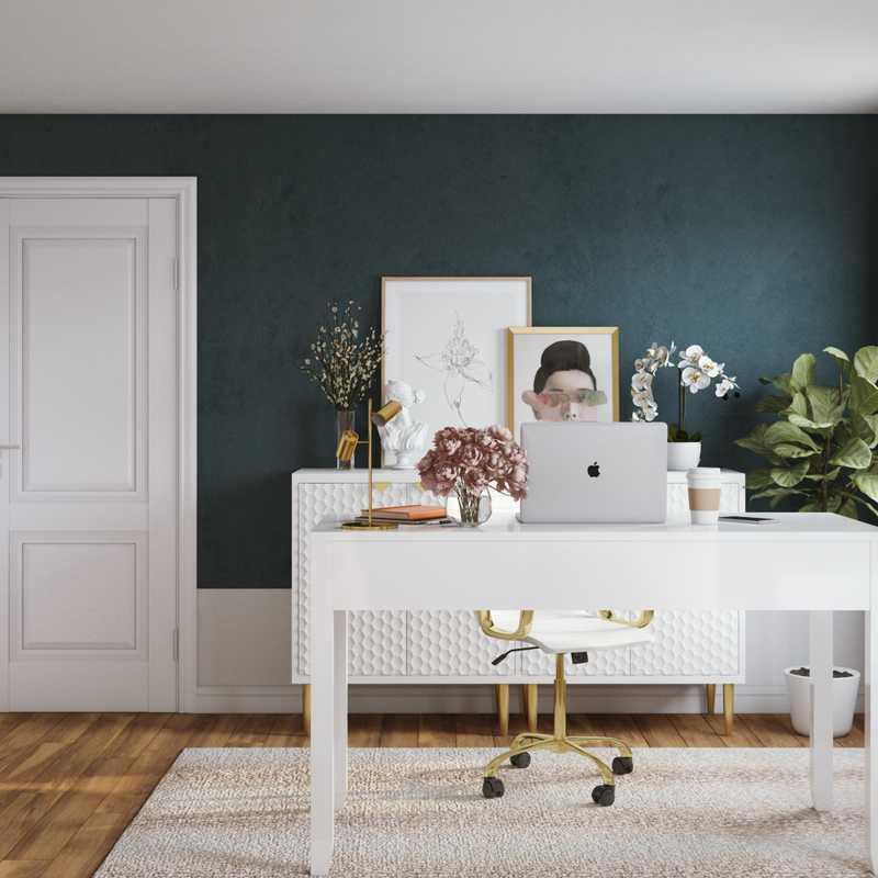 Office Design by Havenly Interior Designer Nicolle