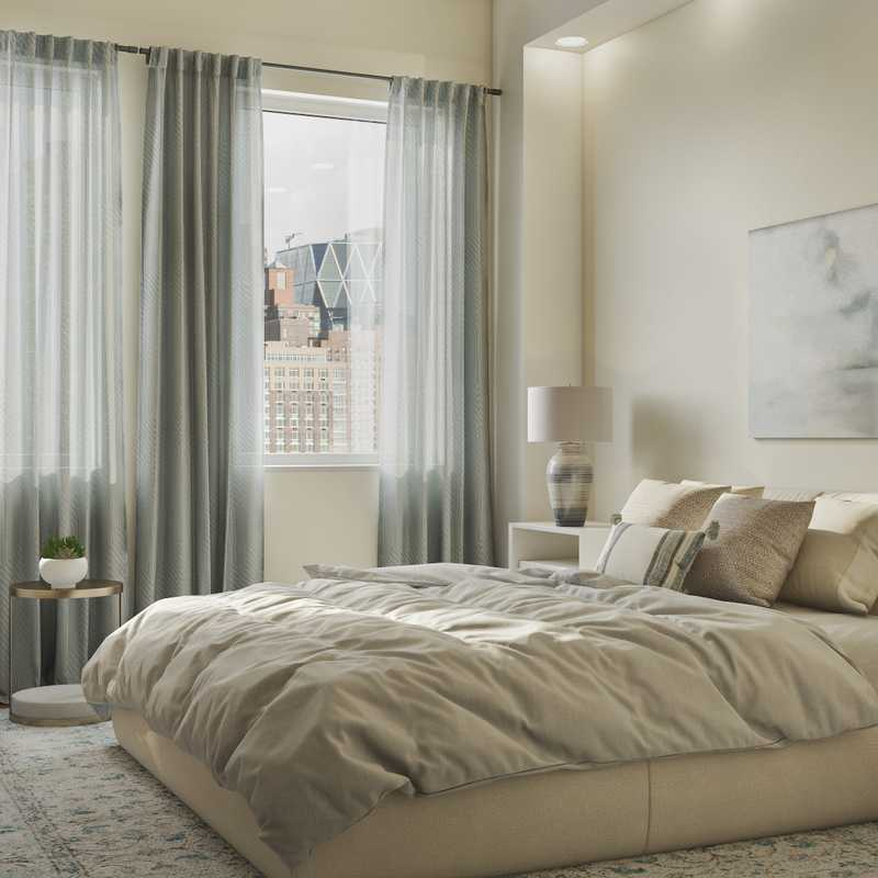 Modern, Classic, Glam, Transitional Bedroom Design by Havenly Interior Designer Cristina