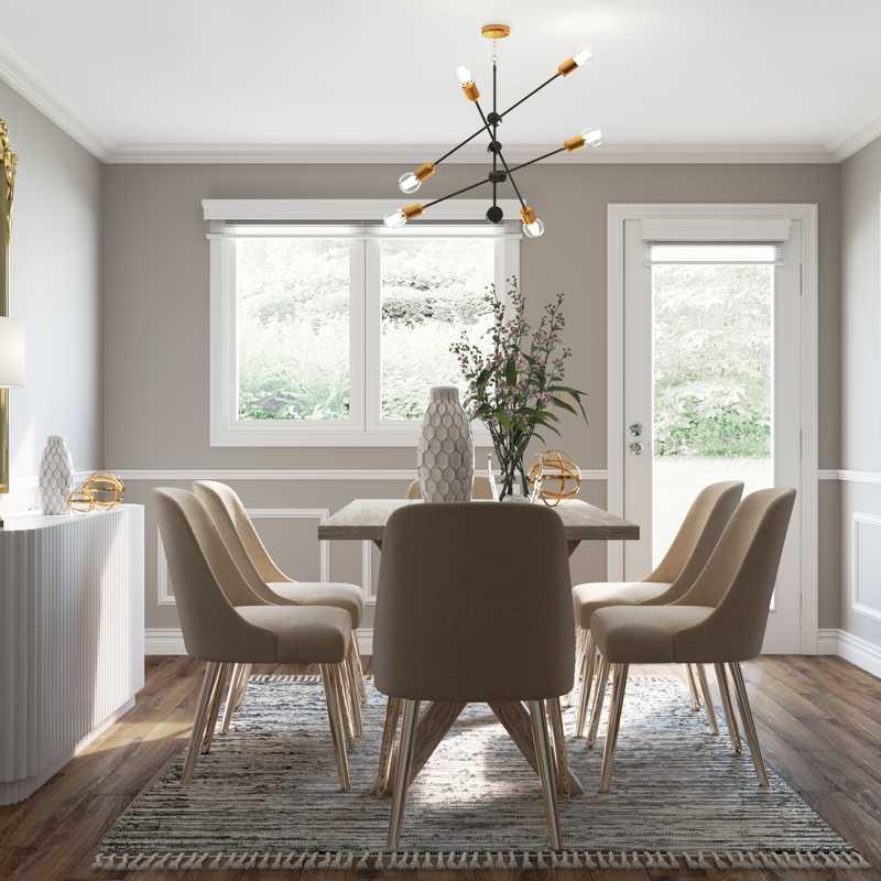 Contemporary, Modern Dining Room Design by Havenly Interior Designer James