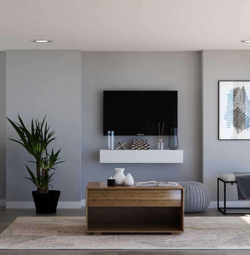 Modern Living Room Design by Havenly Interior Designer Alexis