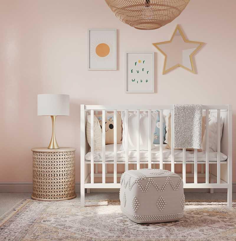 Bohemian, Global Nursery Design by Havenly Interior Designer Laura