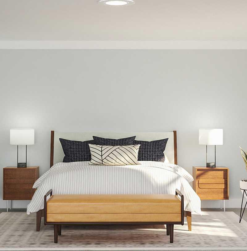 Modern, Midcentury Modern, Scandinavian Bedroom Design by Havenly Interior Designer Kyla
