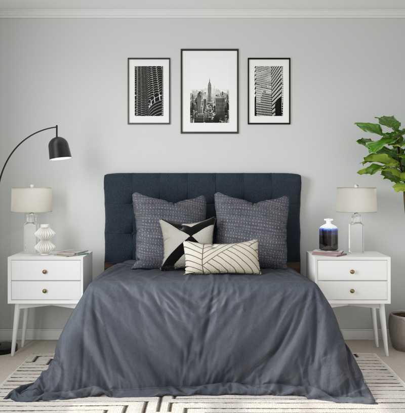 Contemporary, Modern Bedroom Design by Havenly Interior Designer Julie