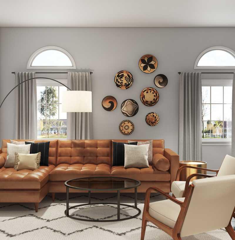 Living Room Design by Havenly Interior Designer Kayla