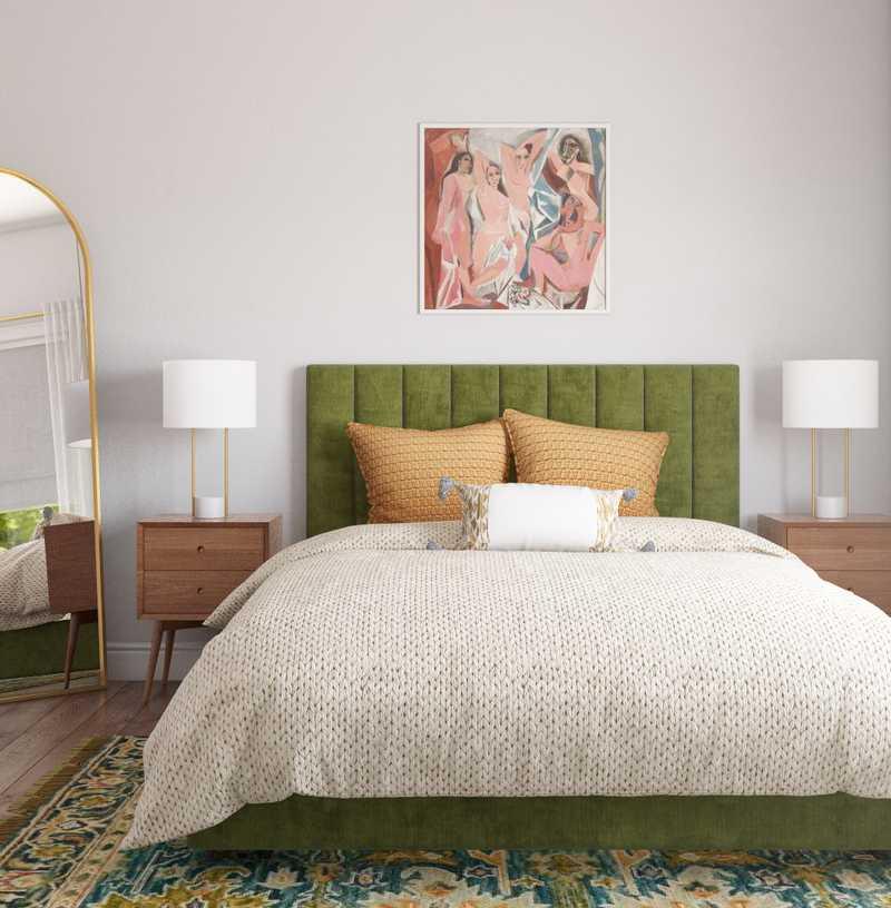 Contemporary, Classic Bedroom Design by Havenly Interior Designer Randi