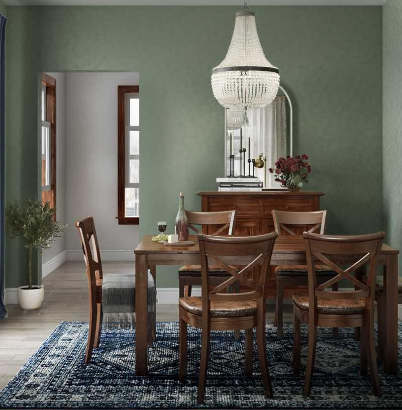 Eclectic, Traditional, Vintage Living Room Design by Havenly Interior Designer Lindsay