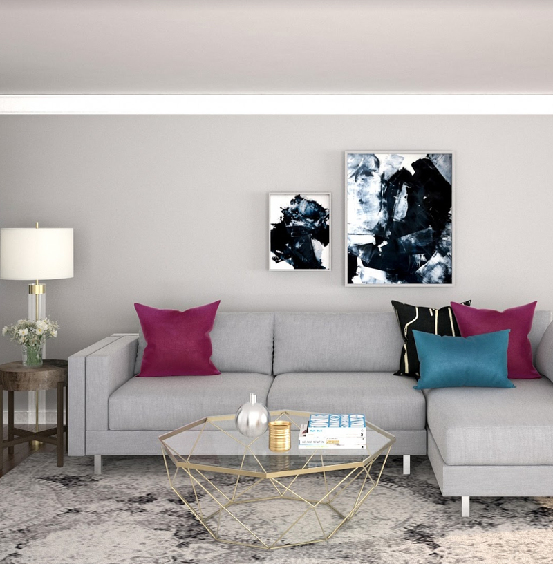 Living Room Design by Havenly Interior Designer Lisa
