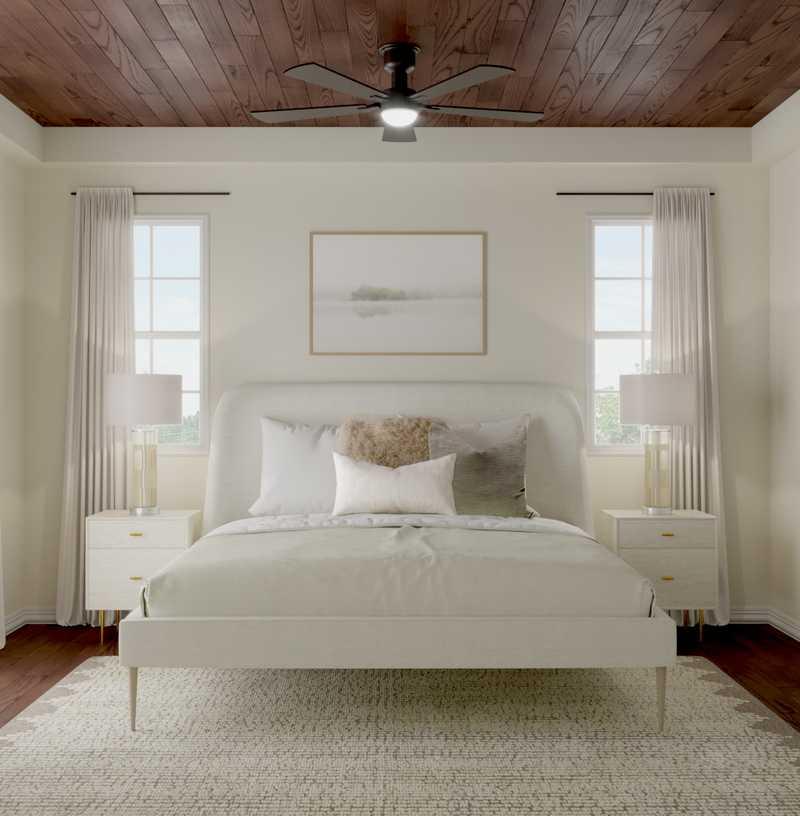 Modern, Transitional, Scandinavian Bedroom Design by Havenly Interior Designer Stacy