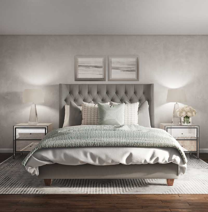 Classic, Transitional Bedroom Design by Havenly Interior Designer Michelle
