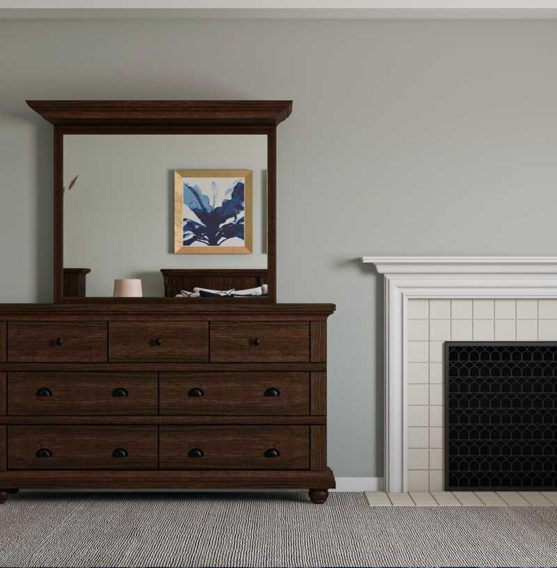 Farmhouse Bedroom Design by Havenly Interior Designer Julija