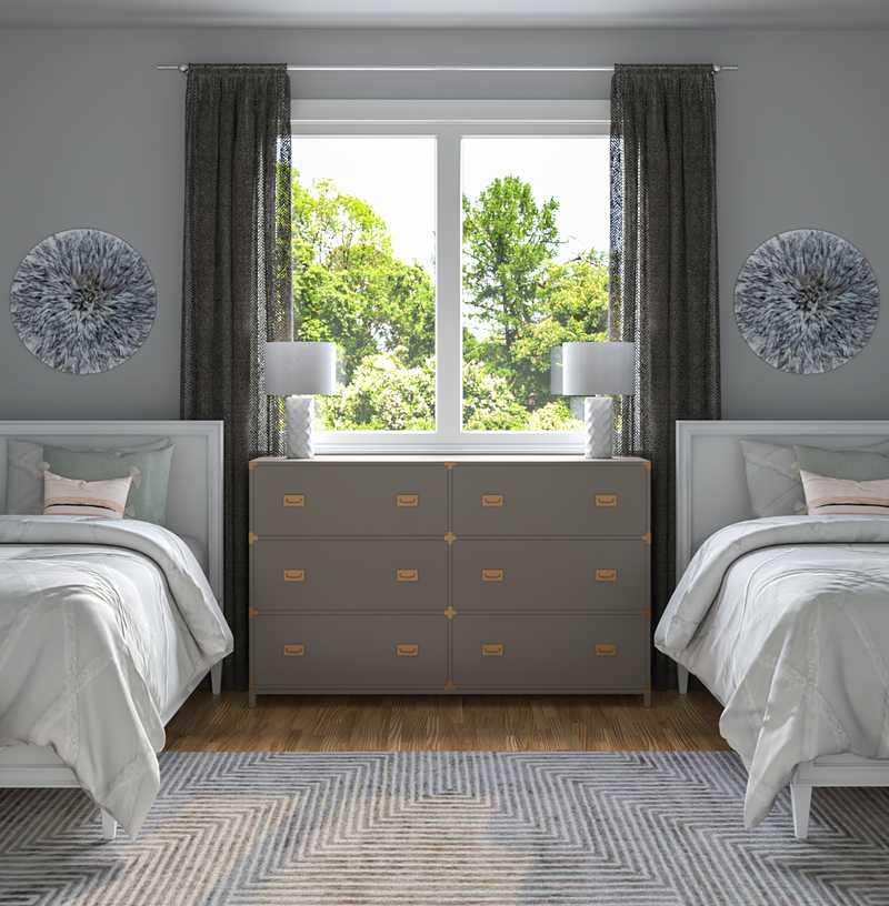 Eclectic Bedroom Design by Havenly Interior Designer Brooke