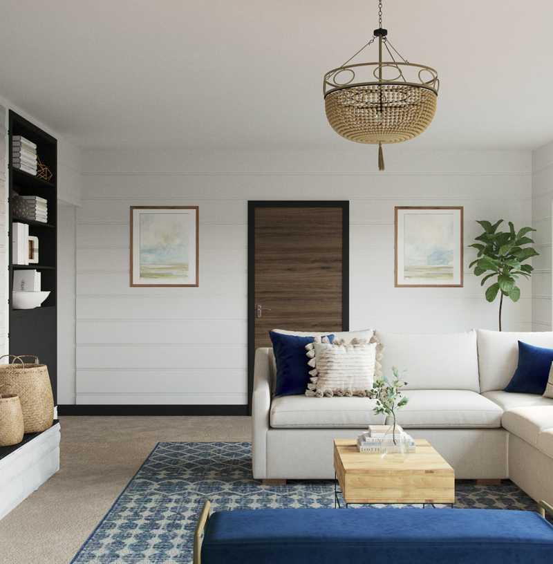 Living Room Design by Havenly Interior Designer Meghan