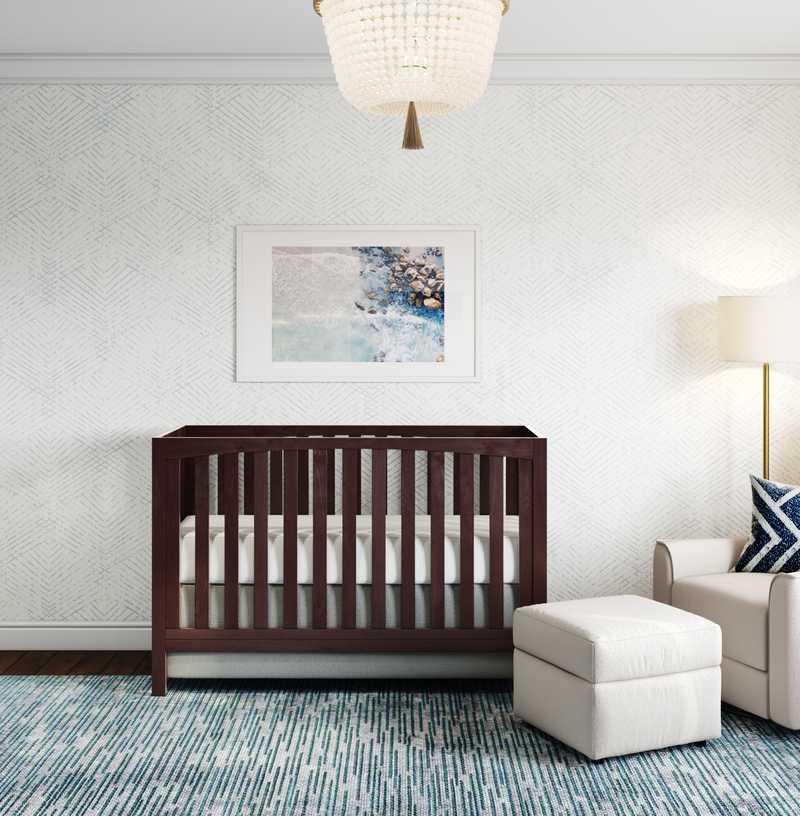 Coastal Nursery Design by Havenly Interior Designer Kristine