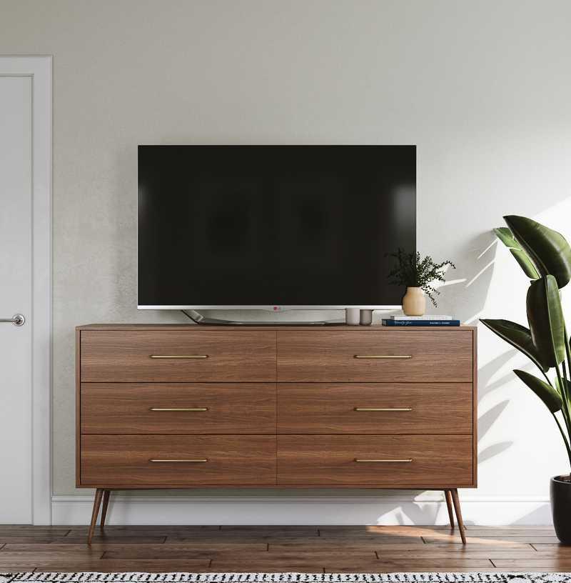 Bohemian, Scandinavian Bedroom Design by Havenly Interior Designer Amanda
