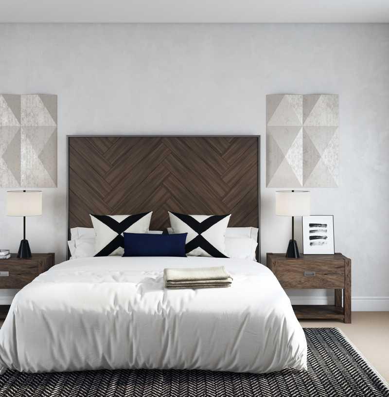 Modern, Industrial Bedroom Design by Havenly Interior Designer Sydney