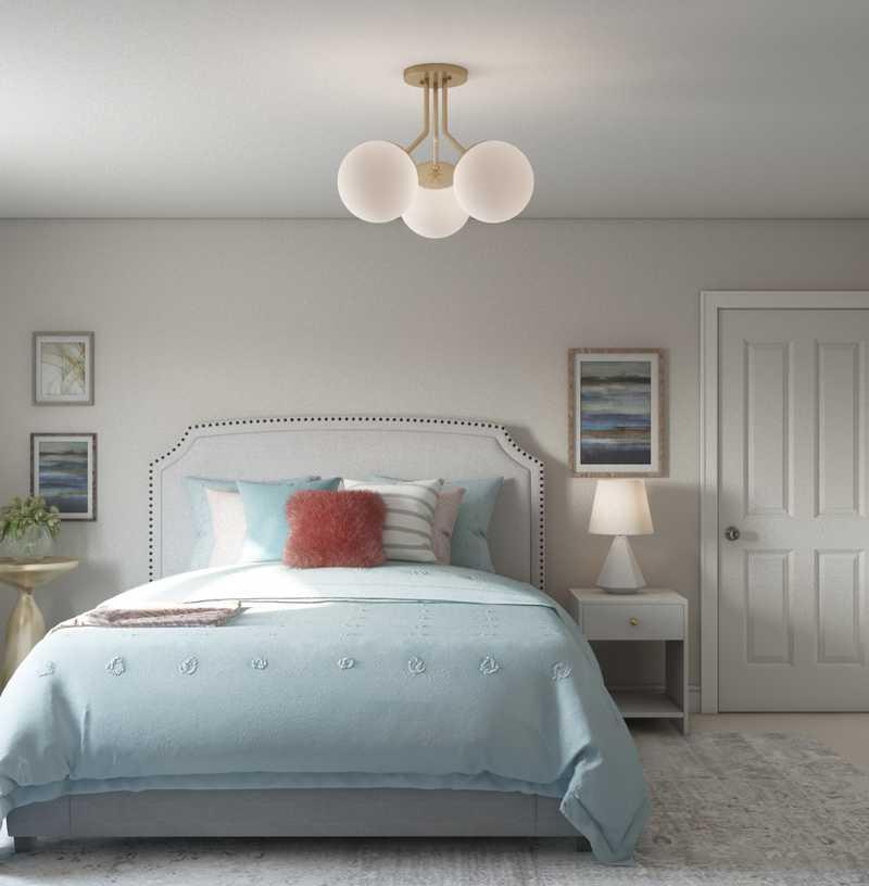 Contemporary, Eclectic, Glam, Preppy Other Design by Havenly Interior Designer Caroline