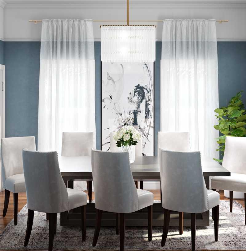 Contemporary Dining Room Design by Havenly Interior Designer Tatiana
